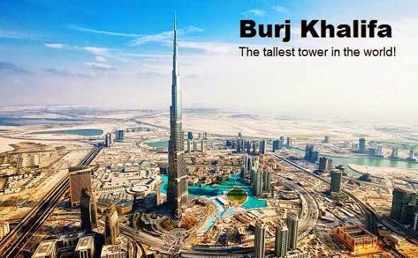 Burj Khalifa - Umroh plus Dubai 2015