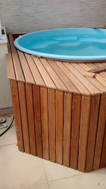 Montagem de Deck piscina 01
