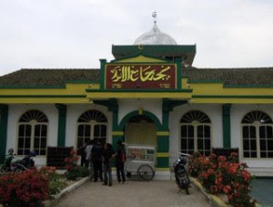 Masjid Jami Al Anwar Dibangun Pertengahan Abad ke-19