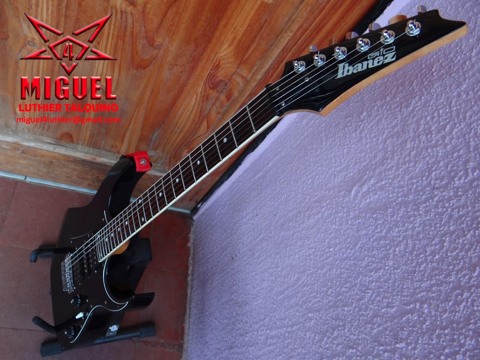 Luthier miguel4 talca guitarra electrica ibanez gio for Luthier guitarra electrica