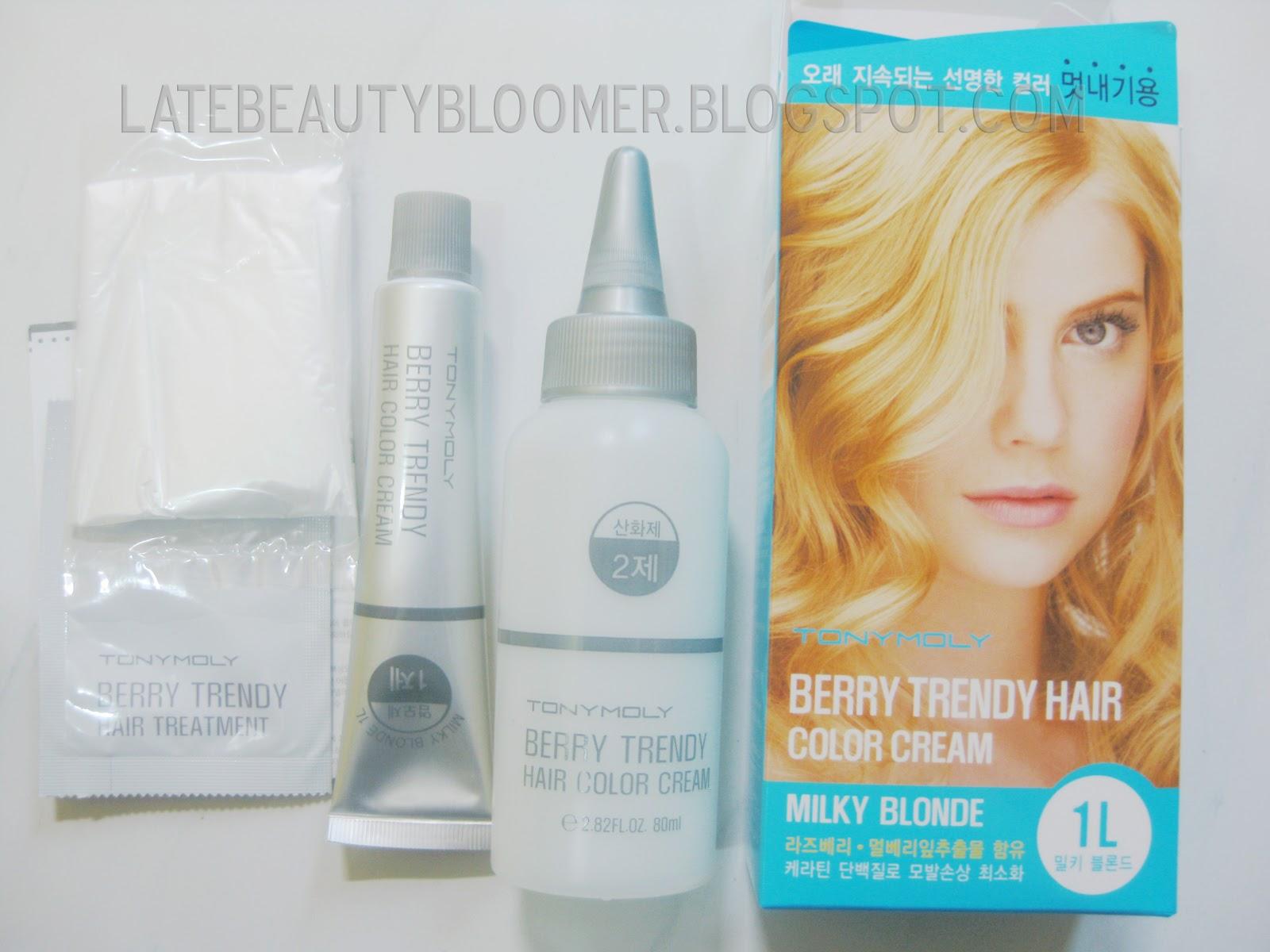 Shays Lifestyle Diary Tony Moly Berry Trendy Hair Color Cream