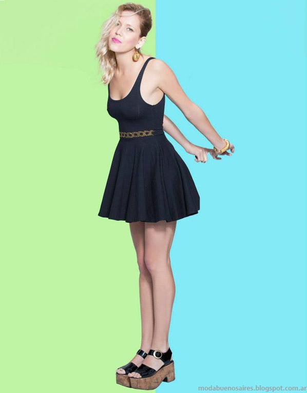 Basilotta vestidos primavera verano 2014. Moda 2014.