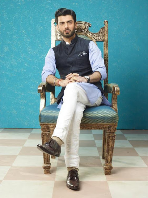fawad khan (Nehru jacket with Kurta) in 'Khoobsoorat'