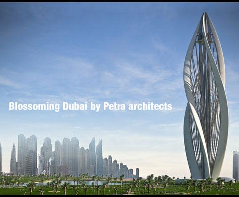 Modern architecture blossoming dubai muddlex for Dubai architecture moderne