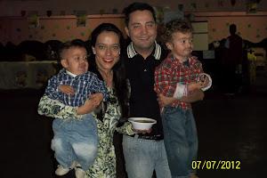 NOSSO GRANDE COLABORADOR NIVALDO ALVARENGA E FAMILIA.