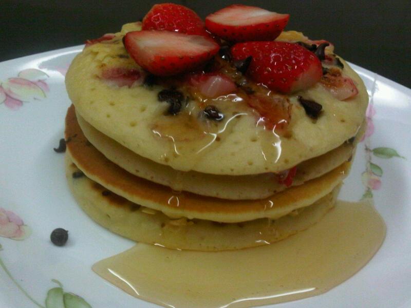 Kisah Kasih Shila: Neapolitan Pancakes For Year End 2011
