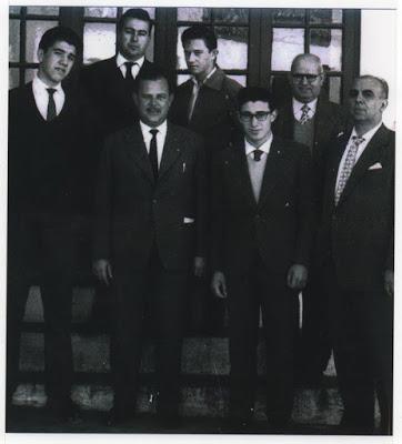 PROFESORADO EN EL COLEGIO PIO XII AÑO 1959