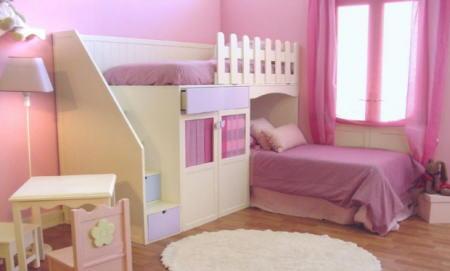 Decoraciones y hogar modernos dormitorios para ni as - Dormitorios de nina decoracion ...