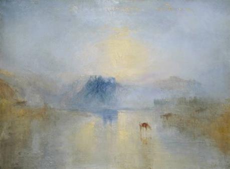 Art Talk - Foredrag om kunst. J.M.W. Turner: Norham Castle, Sunrise, ca. 1845