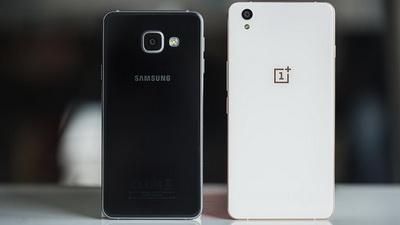 Perbandingan Spesifikasi Samsung Galaxy A3 2016 vs. OnePlus X