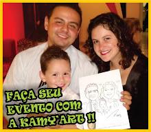 CARICATURAS AO VIVO