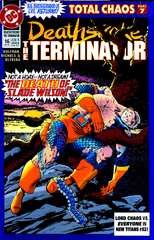 Deathstroke (1991) Issue #16 #21 - English 1
