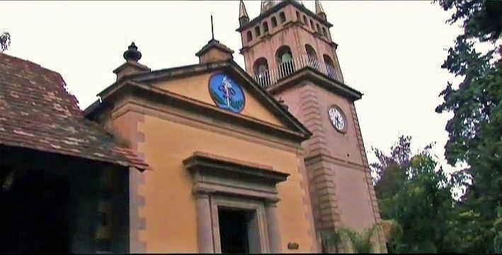 Capilla de la exhacienda San Miguel Regla