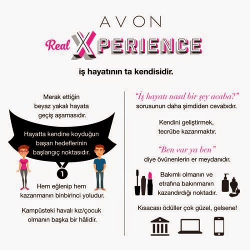 avon real x perience, avon, yarışma, avon kariyer, real xperience, deneyim