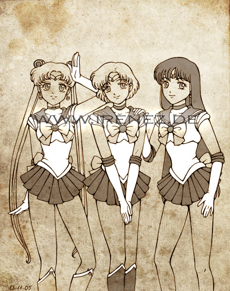 Sailor Moon: Senshi por Molnja