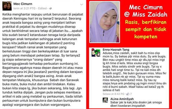 Pesanan Buat Cikgu Rasis di Sabah