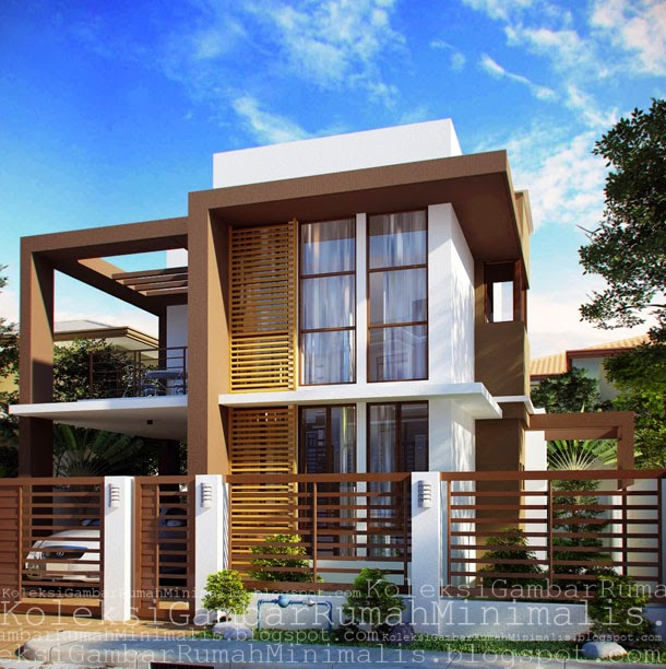inspirasi warna cat rumah masa kini desain rumah minimalis