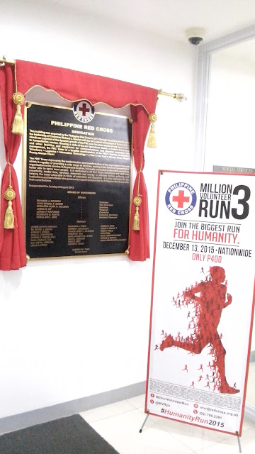 Dedication and Board of Directors Plaque and Million Volunteer Run (MVR) promotion.