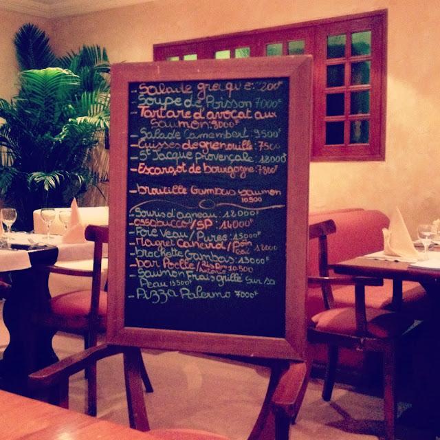 Le Restaurant Don Antonio à Abidjan