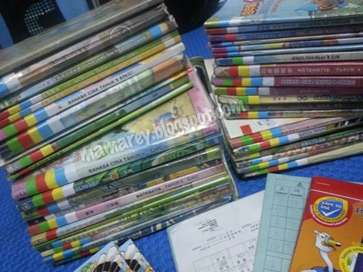 Cara Mudah & Cepat Menyusun Buku Sekolah Mengikut Jadual