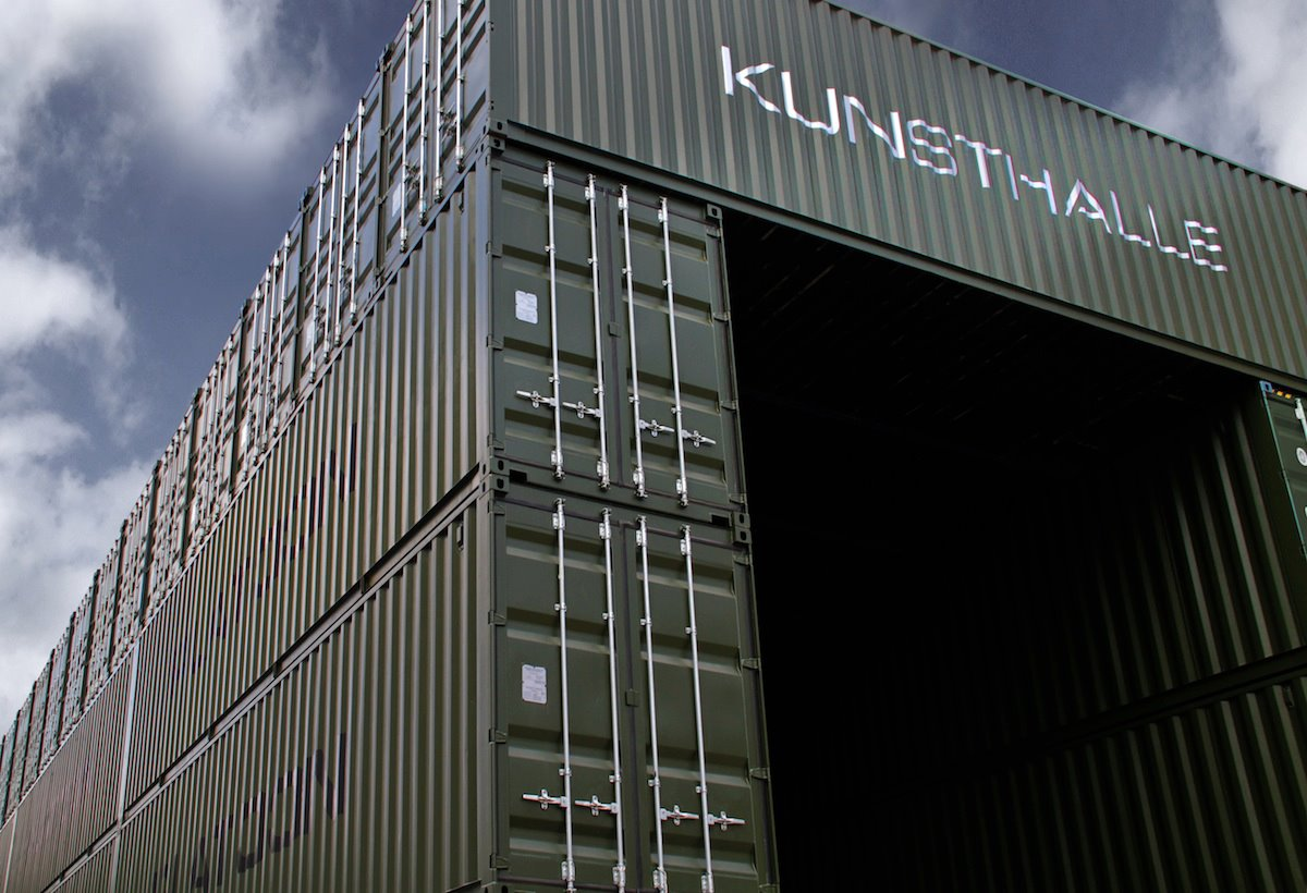 Shipping container homes platoon kunsthalle berlin germany 40 shipping container - Building shipping container homes ...