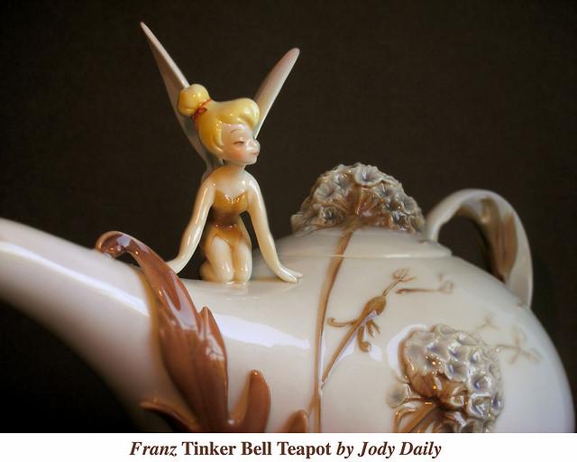 Franz Tinker Bell Teacup por Jody Daily