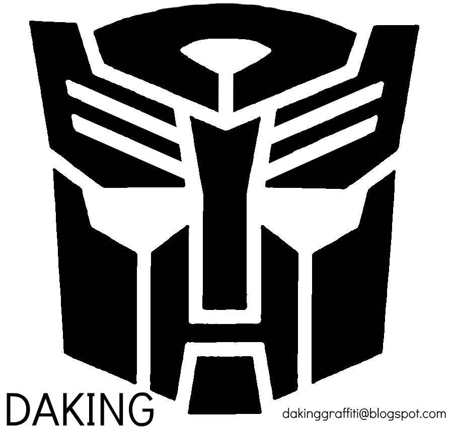 transformers logo stencil wwwpixsharkcom images