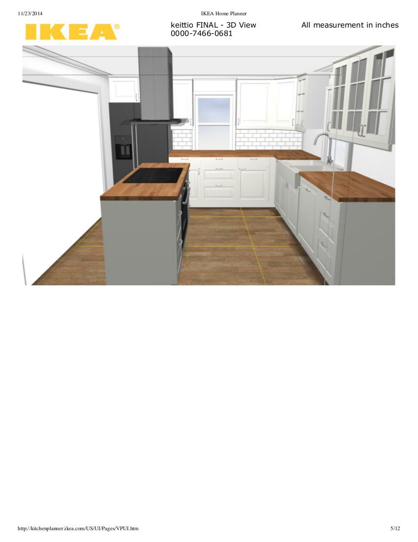 Mamuna maailmalla Tilattu keittiö
