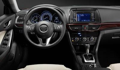 Nuevo Mazda 6 para 2013 - interior