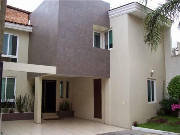 Fachadas de casas modernas casa moderna en residencial - Fachadas con azulejo ...
