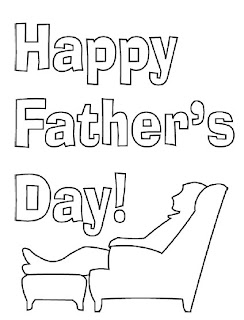 fathers day cards, fathers day coloring pages