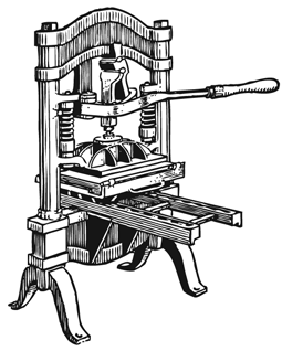 the power of the printing press He was the first to develop movable type(printing press) in 1450  of  information was and is critical to education, power, freedom, entertainment and  basically.