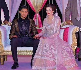 Amir Khan Boxer Wedding Images