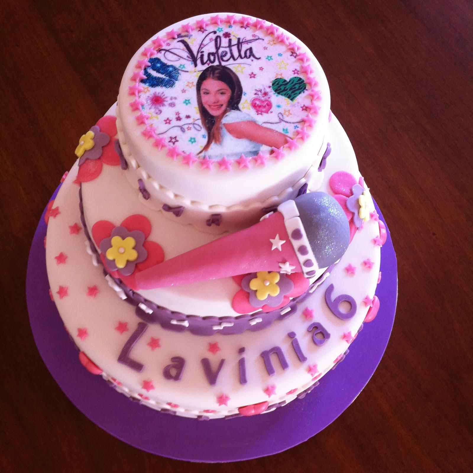 Violetta Cake Cake Ideas and Designs