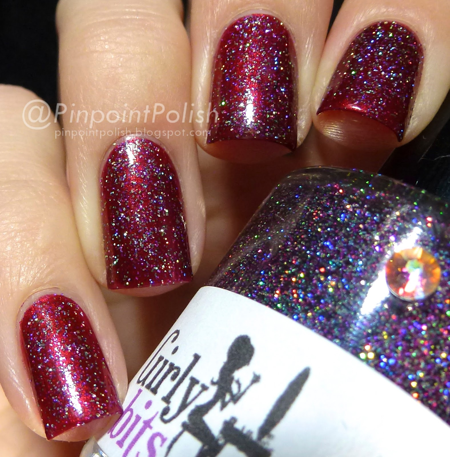 Girly Bits, Into The Night, a-england Perceval, swatch