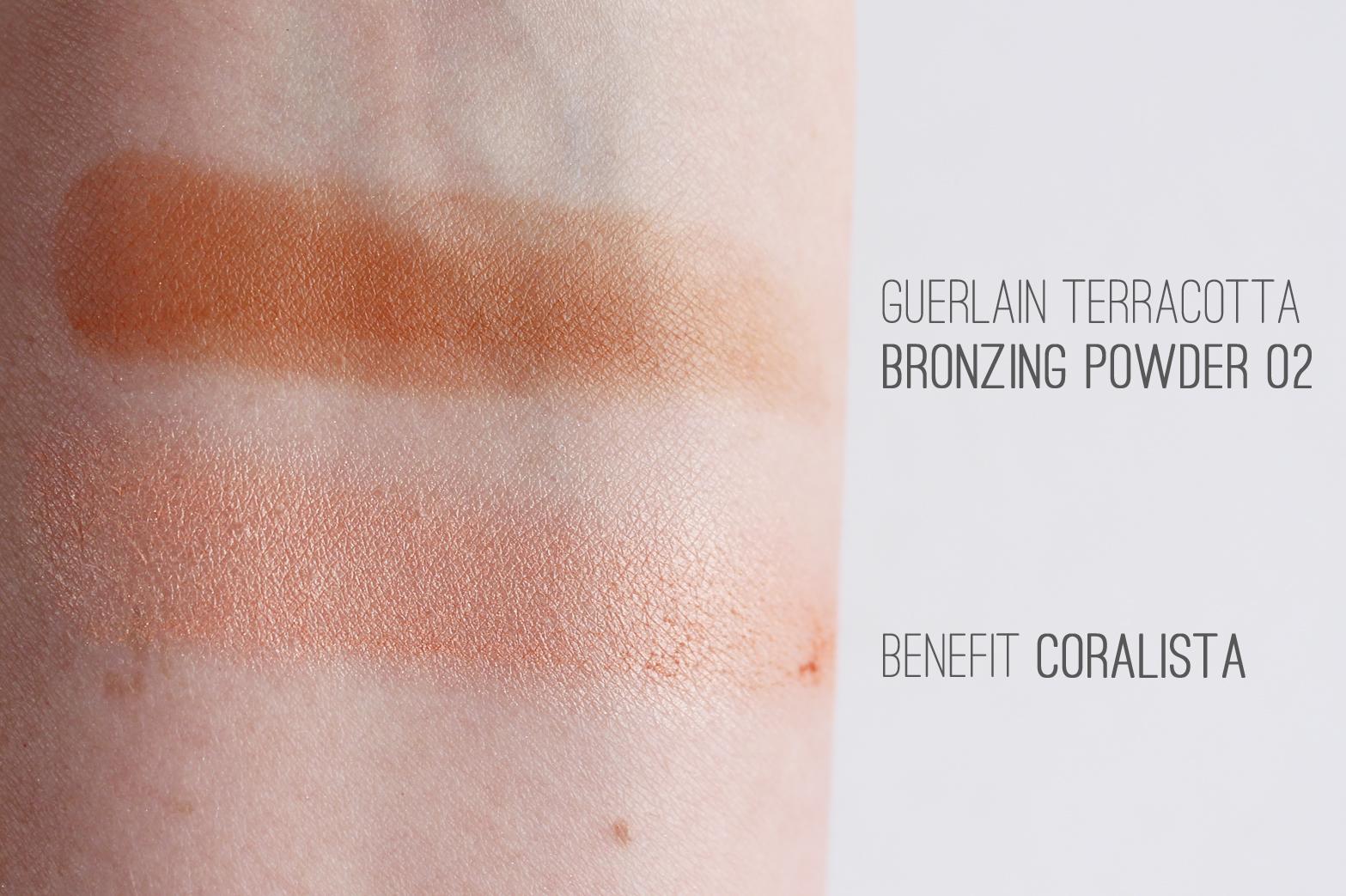 COSME-DE.COM   Haul - Guerlain Terracotta Bronzing Powder in 02 + Benefit Coralista Blush - CassandraMyee