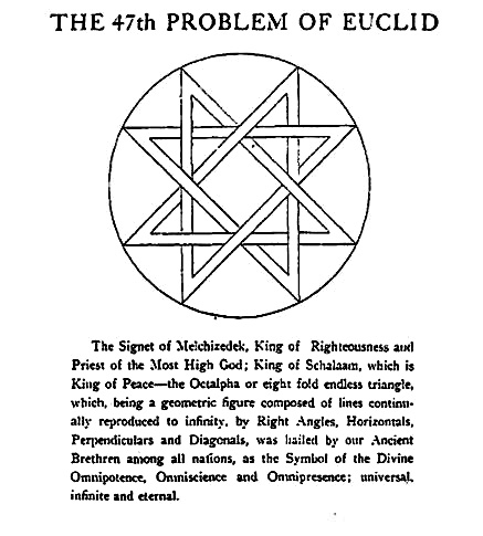 Lds Studies Seal Of Melchizedek Eight Pointed Star