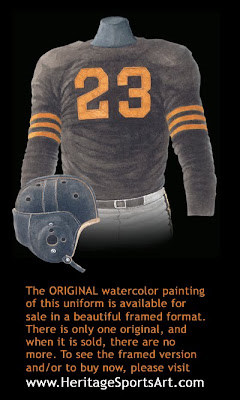 Chicago Bears 1943 uniform