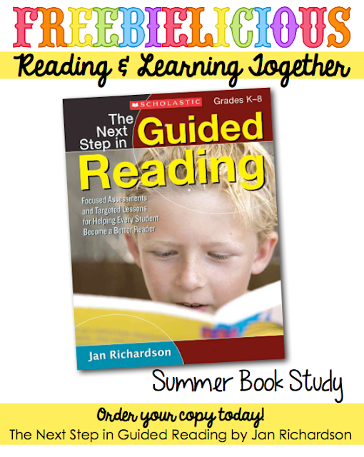 Join the Summer Book Study... The Next Step in Guided Reading