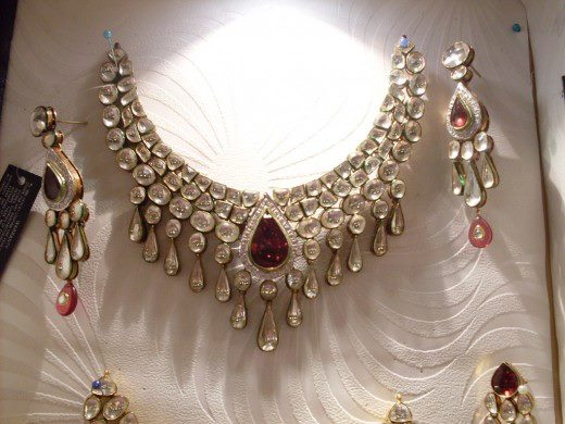 Kundan Jewellery Designs 2012