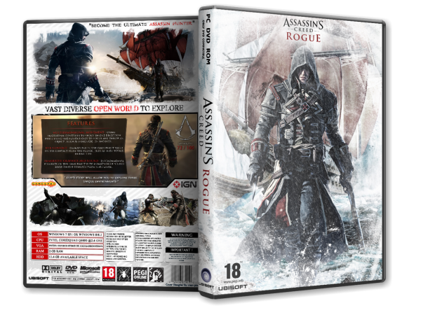 Capa Assassins Creed Rogue PC