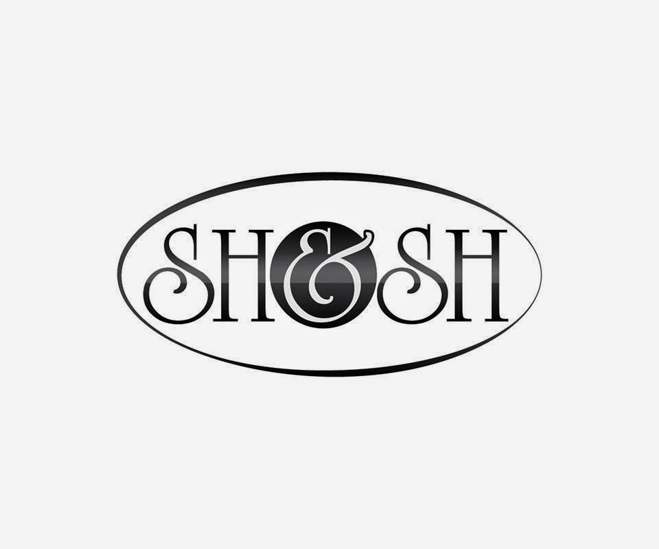 #SHSH Hair Brush Logo
