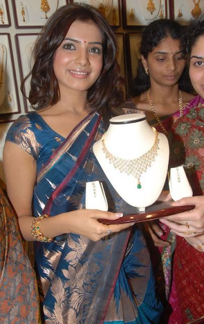 Samantha in Cool Saree-4