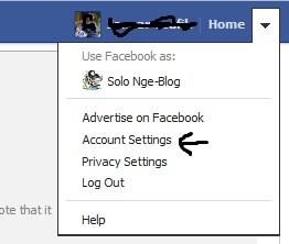 Cara Mengganti Nama Facebook Dengan Mudah