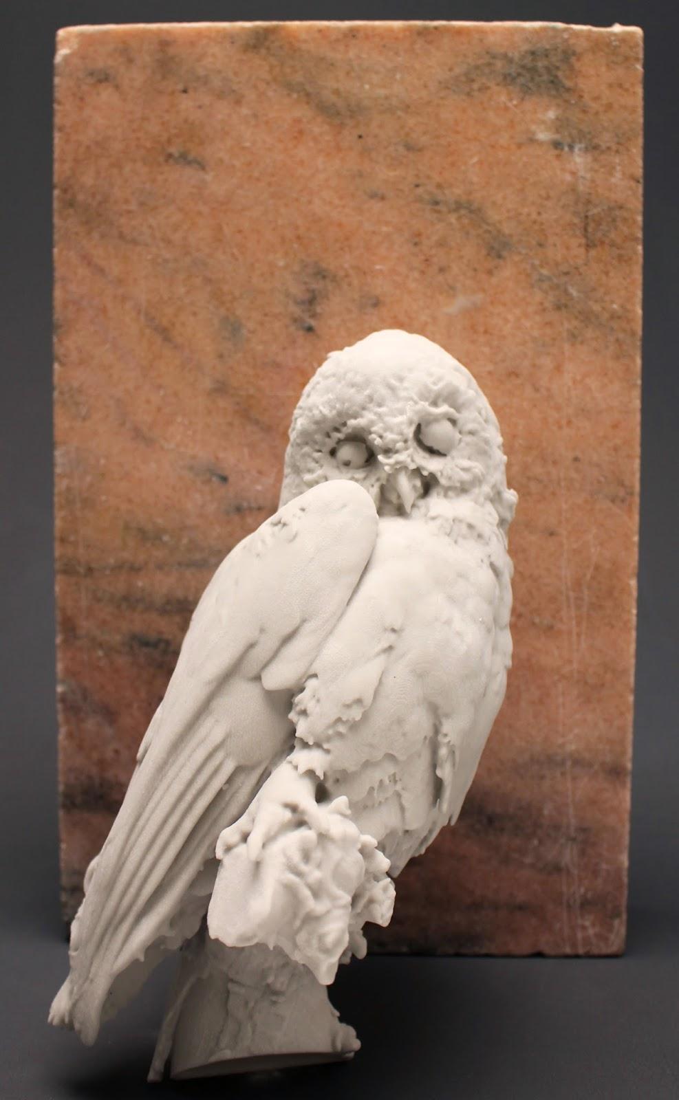 Curious owl haut relief sculpture on a mausoleum flickr
