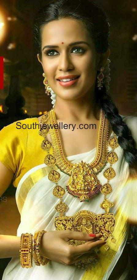 Latest Indian Jewellery Designs 2014 22 Carat Jewellery