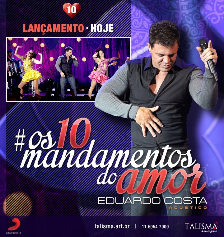 Download Eduardo Costa - Os 10 Mandamentos do Amor MP3 Música