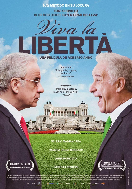 Viva la Libertà (2014): Ver gratis online streaming en español. Película en vivo sin cortes, sin descarga, ni torrent.