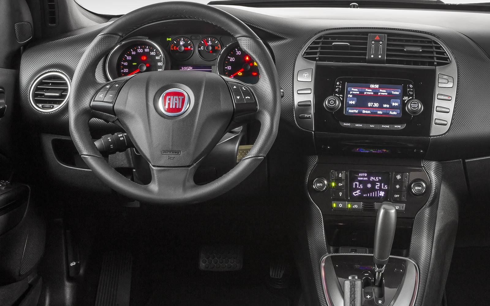 Fiat Bravo Blackmotion 2016 - painel