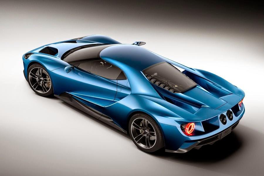 Ford GT (2017 Rendering) Rear Side